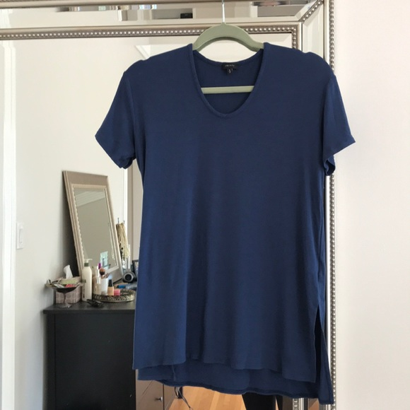 Theory Tops - Blue Theory T-shirt